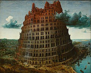 300px-Pieter_Bruegel_the_Elder_-_The_Tower_of_Babel_(Rotterdam)